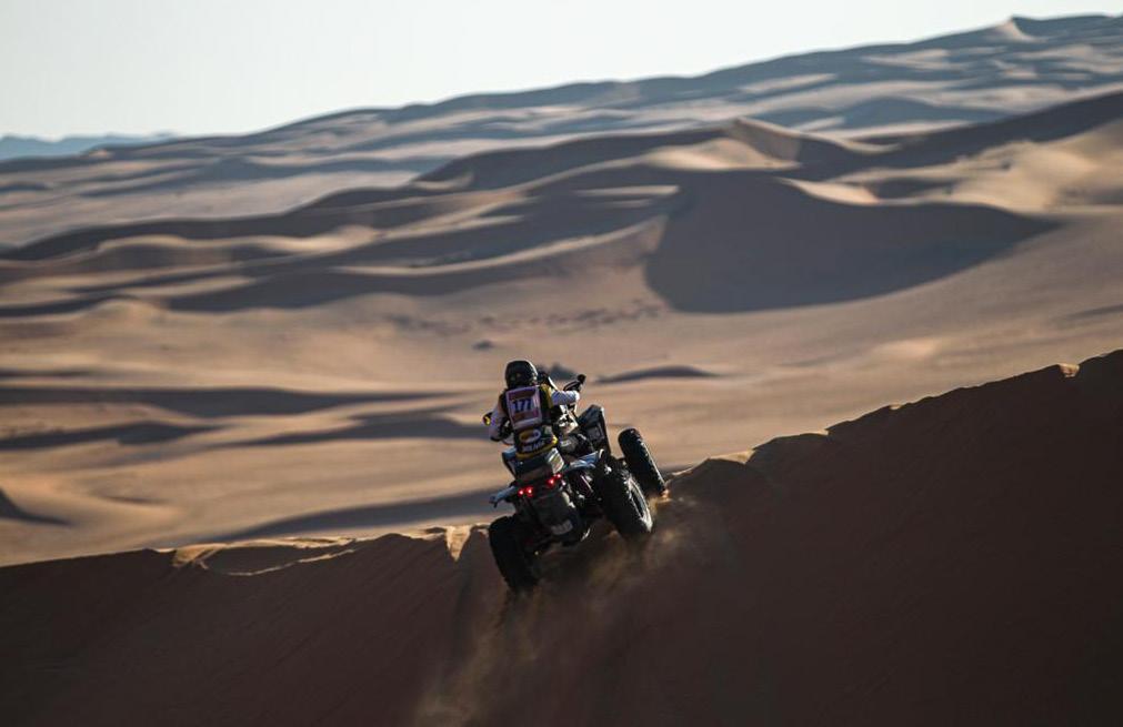 Suany Martinez – La primera mujer boliviana en terminar un Dakar