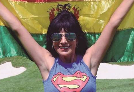 Zdenscka Bacarreza – Deportista y Empresaria